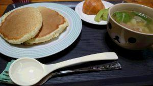 画像:朝食